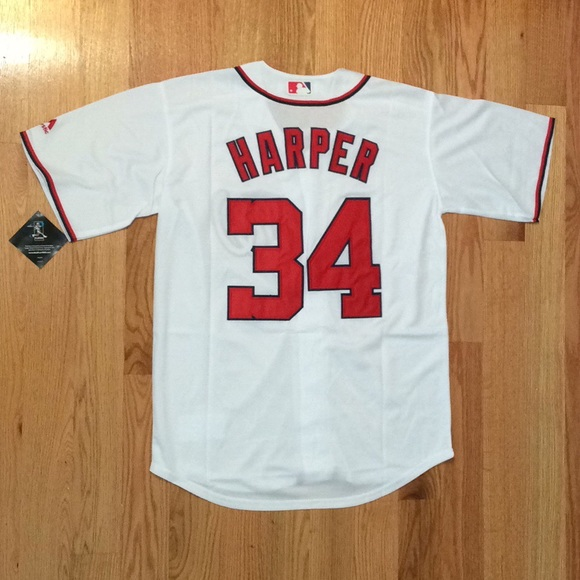 cheaper 5acda 44dc1 Washington Nationals #34 Bryce Harper jersey